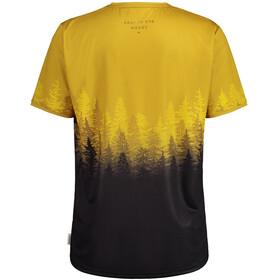 Maloja DrachenkopfM. Multi 1/2 Short Sleeve Multisport Jersey Men, amarillo/negro